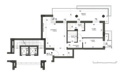 TRILOCALE CON 2 BAGNI MQ 119 – PIANO 5°