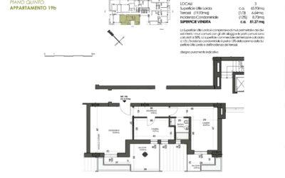 TRILOCALE CON 1 BAGNO MQ 81 – PIANO 5° (nuova disponibilità)
